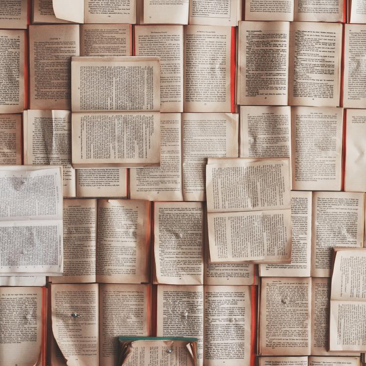 Open book lot - Photo by Patrick Tomasso on Unsplash